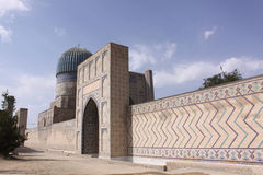 Uzbekistan, Samarkand Shah-i-Zinda complex in Samarkand. Historical place, Shah-i-Zinda complex in Samarkand, Uzbekistan, XV century royalty free stock image