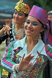 Uzbekistan-Tanz-Gruppe Lizenzfreies Stockbild
