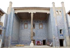 Uzbekistan. Tash Khovli Palace, the summer residence of Khivan Khans, at Itchan Kala, Khiva, Uzbekistan. Itchan Kala is the walled inner town of the city of Royalty Free Stock Images