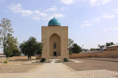 Uzbekistan Tasjkent historiskt Madrasa komplex Royaltyfri Fotografi