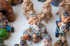Uzbekistan. Traditional handicrafts in Bukhara, Uzbekistan Royalty Free Stock Photography
