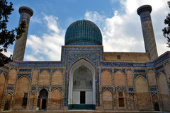 Uzbekistan. Travel through historical places in Uzbekistan stock photography