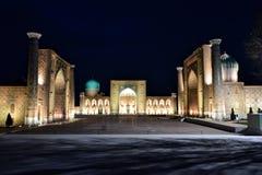 Uzbekistan. Travel through historical places in Uzbekistan stock image