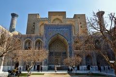 Uzbekistan. Travel through historical places in Uzbekistan stock photo
