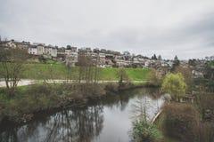 Uzerche, Francia imagen de archivo libre de regalías