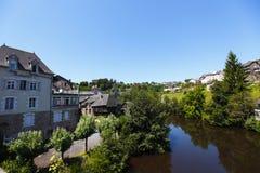 Uzerche village in France Stock Photo