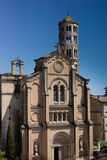Собор Uzes, башня окна Стоковые Фотографии RF