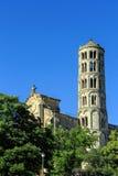 Uzes, ao sul de França Foto de Stock