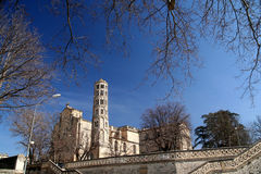 Uzes Cathedral Stock Image
