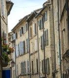 Uzes (Francia) Fotografie Stock Libere da Diritti