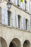 Uzes (Frankrike) Arkivfoto
