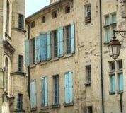 Uzes (Frankrike) Arkivbild