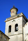 Uzes, south of France. Bell Tower in the St.Etienne cathedral in Uzes Provence,  south of France Stock Images