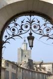 Uzes Village, Provence; France. Uzes Village in Provence; France; Europe Stock Images