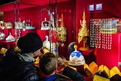 In Uzhgorodospita le corone di una mostra del mondo Immagine Stock