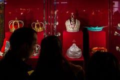In Uzhgorodospita le corone di una mostra del mondo Fotografia Stock Libera da Diritti