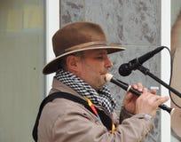 Uzhgorod Μουσικός οδών Στοκ Εικόνα