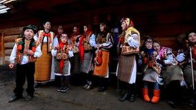 Vasylya festival celebrating in TransCarpathia