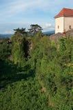 Uzhhorod Castle. Wall of the Uzhhorod Castle, Ukraine. Built in ХI century Royalty Free Stock Photography