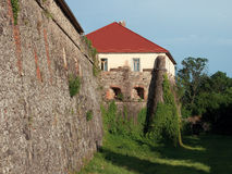 Uzhhorod Castle. Wall of the Uzhhorod Castle, Ukraine. Built in ХI century Stock Image