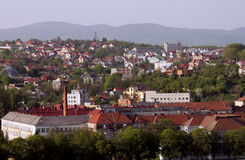 Uzhhorod city Royalty Free Stock Image