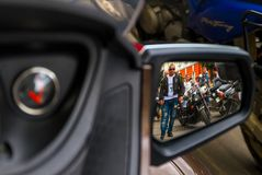 Lifestyle - bikers in the ride Royalty Free Stock Image