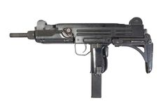 UZI submachine gun Stock Image