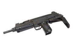 UZI submachine gun Stock Photos