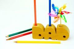 Uznanie lub prezent tata od dziecka Zdjęcie Royalty Free