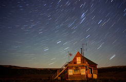Uzon at night, Kronotsky nature reserve, Russia Royalty Free Stock Photography