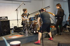 UZUHI Live At SpringFest NY 2014 3 Stock Photos