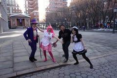 UZUHI Żyją Przy SpringFest NY 2014 6 obraz stock