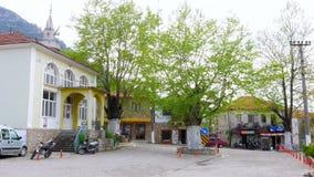UZUMLU, FETHIYE, TURKEY - APRIL 2015: Traditional anatolian turkish village stock video