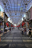 Uzun Carci Bazaar in Bursa City, Turkey Royalty Free Stock Photos