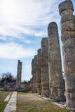 Uzuncaburc ruins,mersin turkey Stock Image