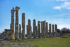 Uzuncaburc ruins,mersin turkey Royalty Free Stock Photography