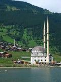 Uzungol. Beautiful mountain lake in northeast Turkey Royalty Free Stock Photo