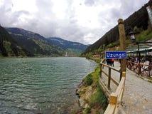 Uzungol - lac dans la région du nord-est de la Turquie Photographie stock
