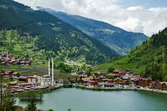 Uzungol - lake in the north-eastern part of Turkey Stock Photography