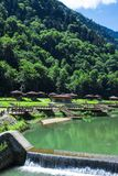 Uzungol is one of the most touristic places located in Trabzon. Stock Photography