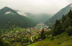 Uzungol/Trabzon/Turkije Royalty-vrije Stock Afbeeldingen