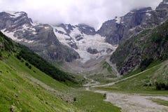 Uzunkol Karachay Cherkessia mountains Stock Photo