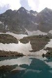 Uzunkol Karachay Cherkessia mountains Stock Photos