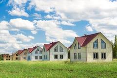 uzupełniający domy nie Fotografia Royalty Free