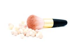 uzupełniający szczotkarski rumiena kosmetyk obrazy royalty free