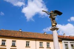 uzupio vilnius статуи Литвы ангела Стоковое Изображение RF