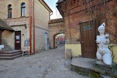 Uzupis district, Vilnius Royalty Free Stock Photo