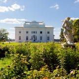 Uzutrakis Landsitz in Litauen Lizenzfreies Stockfoto