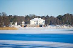 Free Uzutrakis Manor Estate In Winter Royalty Free Stock Photography - 48703257