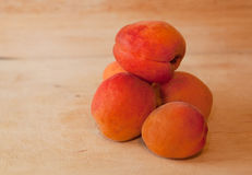 Uzzy orange apricots / Stock Image
